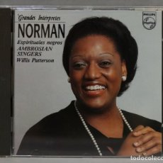 CDs de Música: CD. GRANDES INTERPRETES. NORMAN. Lote 278624253