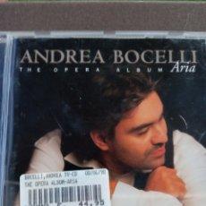 "CDs de Música: CD ANDREA BOCELLI "" THE OPERA ALBUM ARIA "". Lote 278624448"