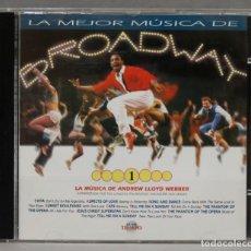 CDs de Música: CD. LA MEJOR MÚSICA DE BROADWAY 1. LA MÚSICA DE ANDREW LLOYD WEBBER. Lote 278624793