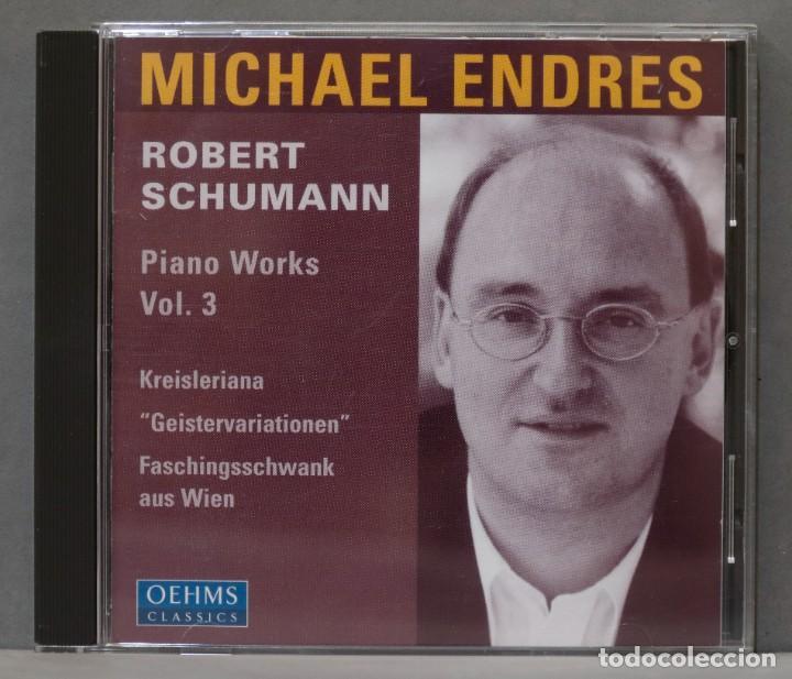 CD. PIANO WORKS VOL. 3. ENDRES. SCHUMANN (Música - CD's Clásica, Ópera, Zarzuela y Marchas)