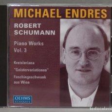 CDs de Música: CD. PIANO WORKS VOL. 3. ENDRES. SCHUMANN. Lote 278625323