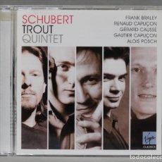 CDs de Música: CD. TROUT QUINTET. SCHUBERT. Lote 278625388