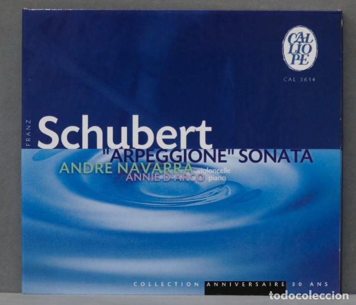 "CD. SCHUBERT. ""ARPEGGIONE"" SONATA. NAVARRA (Música - CD's Clásica, Ópera, Zarzuela y Marchas)"