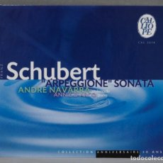 "CDs de Música: CD. SCHUBERT. ""ARPEGGIONE"" SONATA. NAVARRA. Lote 278625483"