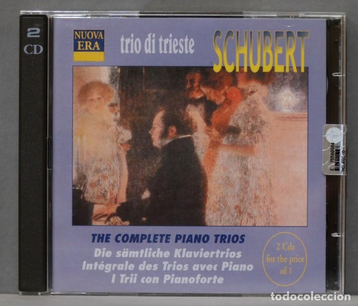 2 CD. SCHUBERT. COMPLETE PIANO TRIOS. TRIO DE TRIESTE (Música - CD's Clásica, Ópera, Zarzuela y Marchas)