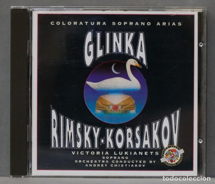 CD. COLORATURA SOPRANO ARIAS. GLINKA. RIMSKY-KORSAKOV (Música - CD's Clásica, Ópera, Zarzuela y Marchas)