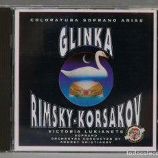 CDs de Música: CD. COLORATURA SOPRANO ARIAS. GLINKA. RIMSKY-KORSAKOV. Lote 278625898