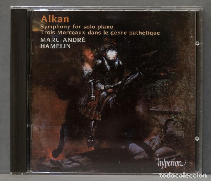 CD. SYMPHONY FOR SOLO PIANO. TROIS MORCEAUX DANS LE GENRE PATHÉTIQUE. ALKAN (Música - CD's Clásica, Ópera, Zarzuela y Marchas)