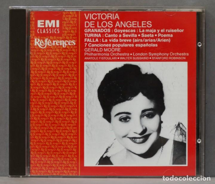CD. FALLA. GRANADOS. TURINA. VICTORIA DE LOS ANGELES (Música - CD's Clásica, Ópera, Zarzuela y Marchas)
