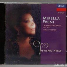 CDs de Música: CD. FRENI. VERISMO ARIAS. Lote 278626153