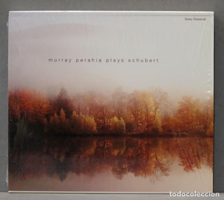 CD. MURRAY PERAHIA PLAYS SCHUBERT (Música - CD's Clásica, Ópera, Zarzuela y Marchas)