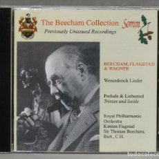 CDs de Música: CD. THE BEECHAM COLLECTION. PREVIOUSLY UNISSUED. LIEDER. Lote 278626893