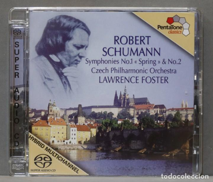 CD. SYMPHONIES NOS. 1 AND 2. SCHUMANN. FOSTER (Música - CD's Clásica, Ópera, Zarzuela y Marchas)