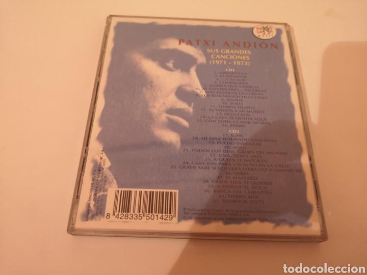 CDs de Música: PATXI ANDION SUS GRANDES CANCIONES (1971-1973) 2 CDS ORIGINALES - Foto 2 - 278629293