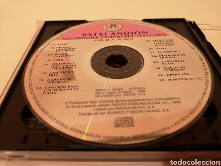 CDs de Música: PATXI ANDION SUS GRANDES CANCIONES (1971-1973) 2 CDS ORIGINALES - Foto 4 - 278629293