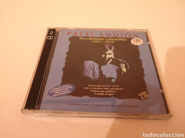 PATXI ANDION SUS GRANDES CANCIONES (1971-1973) 2 CD'S ORIGINALES (Música - CD's Melódica )