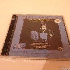 CDs de Música: PATXI ANDION SUS GRANDES CANCIONES (1971-1973) 2 CD'S ORIGINALES. Lote 278629293