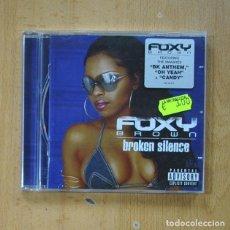 CD de Música: FOXY BROWN - BROKEN SILENCE - CD. Lote 278684248