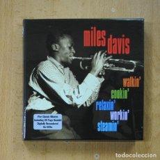 CDs de Música: MILES DAVIS - WALKIN COOKIN RELAXIN WORKIN STEAMIN - 5 CD. Lote 278685438