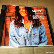 CDs de Música: SHERYL CROW TUESDAY NIGHT MUSIC CLUB 2 CD EDICION LIMITADA 6 TEMAS DIRECTO BASICO 40 MADRID DOBLE CD. Lote 36966837