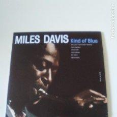 CDs de Música: MILES DAVIS KIND OF BLUE ( 1957 DOL 2017 ) FUNDA CARTON REPLICA DEL DISCO ORIGINAL EX EX BILL EVANS. Lote 278696773
