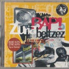 CDs de Música: CD BAP- ZURIA BELTZEZ + BIDE HUTS ETXE HUTS - PUNK. Lote 278698643