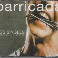 CDs de Música: CD BARRICADA - LOS SINGLES 1983 - 1996 - DOBLE CD. Lote 278699428