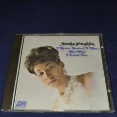 CDs de Música: ARETHA FRANKLIN I NEVER LOVED A MAN THE WAY I LOVE YOU. Lote 278703173