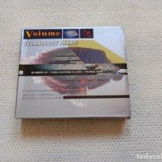 CDs de Música: VARIOS ARTISTAS - TECHNOLOGY ALERT Nº 15 DOBLE CD + LIBRETO 1996 ( NEW ORDER COCTEAU TWINS ). Lote 278761723