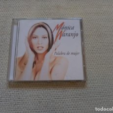 CDs de Música: MONICA NARANJO - PALABRA DE MUJER CD 1997. Lote 278766863