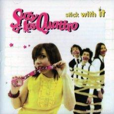 CD de Música: SUZY & LOS QUATTRO - STRICK WITH IF. Lote 278804088