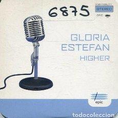 CDs de Música: GLORIA ESTEFAN / HIGHER (CD SINGLE CARTON PROMO 1997). Lote 278804448