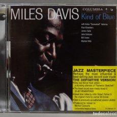 CDs de Música: CD. MILES DAVIS. KIND OF BLUE. Lote 278829103