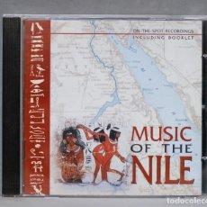 CDs de Música: CD. HAIG YAZDJIAN, SAYID DERUISH, RIAD EL SOUMBATI. MUSIC OF THE NILE. Lote 278830778