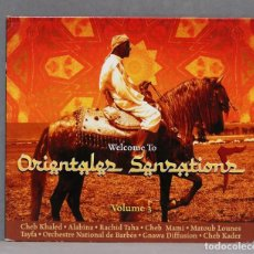 CDs de Música: CD. WELCOME TO ORIENTALES SENSATIONS 3. Lote 278831333