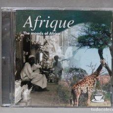 CDs de Música: CD. AFRIQUE. THE MOODS OF AFRICA. Lote 278832633