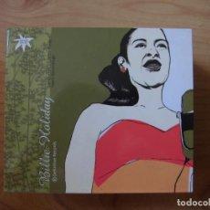 CDs de Música: BOX SET BILLIE HOLIDAY DEFINITIVE RECORDS 10 CD'S + LIBRETO 96 PÁGINAS 2003. Lote 278881293