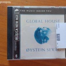 CDs de Música: CD OYSTEIN SEVAG - GLOBAL HOUSE (S4). Lote 278924013