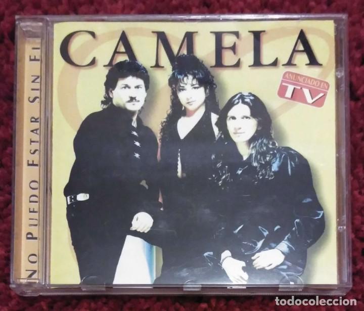 CAMELA (NO PUEDO ESTAR SIN EL) CD 1999 (Música - CD's Melódica )