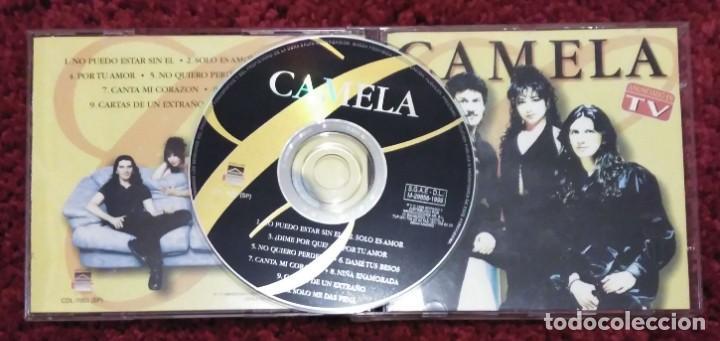 CDs de Música: CAMELA (NO PUEDO ESTAR SIN EL) CD 1999 - Foto 2 - 278925048