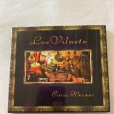 CDs de Música: LOS VILNETZ-CIRCUS KLEZMER-2008-MUY RARO-EXCELENTE ESTADO. Lote 278925278