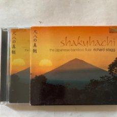 CDs de Música: RICHARD STAGG-SHAKUHACHI THE JAPANESE BAMBOO FLUTE-EXCELENTE ESTADO. Lote 278927083