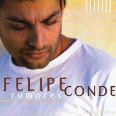 CDs de Música: CD FELIPE CONDE RUMORES CON 10 TEMAS PRECINTADO AQUITIENESLOQUEBUSCA ALMERIA. Lote 278937238