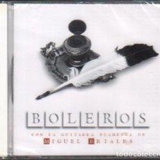 CDs de Música: BOLEROS - CON LA GUITARRA FLAMENCA DE MIGUEL BRIALES / CD ALBUM 2004 / PRECINTADO RF-10404. Lote 278943303