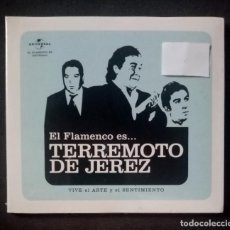 CDs de Música: TERREMOTO DE JEREZ - EL FLAMENCO ES...TERREMOTO DE JEREZ (VIVE EL ARTE .. - CD (NUEVO / PRECINTADO). Lote 278977473