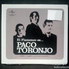 CDs de Música: PACO TORONJO - EL FLAMENCO ES... PACO TORONJO (VIVE EL ARTE Y EL SENTI... - CD (NUEVO / PRECINTADO). Lote 278978333