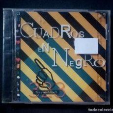 CDs de Música: CUADROS EN NEGRO - TRESVENTITRES - CD (NUEVO / PRECINTADO). Lote 278981018