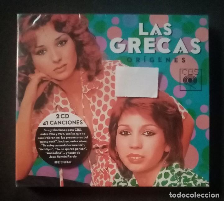LAS GRECAS - ORÍGENES - 2 X CD 2015 - CBS (NUEVO / PRECINTADO) (Música - CD's Flamenco, Canción española y Cuplé)