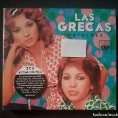 CDs de Música: LAS GRECAS - ORÍGENES - 2 X CD 2015 - CBS (NUEVO / PRECINTADO). Lote 278981218