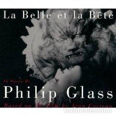 CDs de Música: PHILIP GLASS. LA BELLE ET LA BETE (2 CD). Lote 278981323